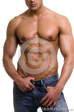 The male body.