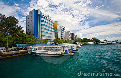 Male  - capital of Maldives