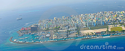 Male the capital of Maldives