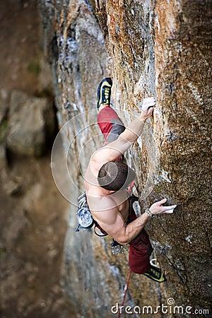 Male Climber