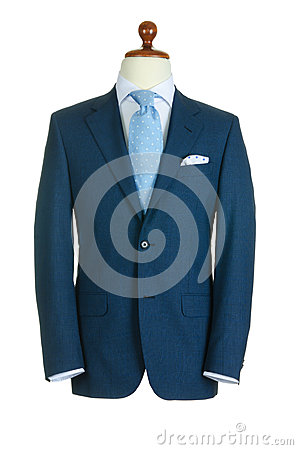 Male clothing suit