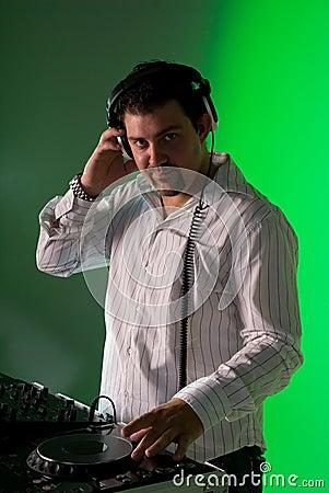 Male DJ