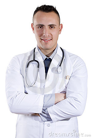 Male Doctor Royalty Free Stock Image - Image: 13649446
