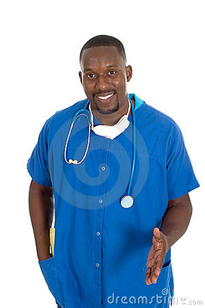 Male Doctor Or Nurse 2