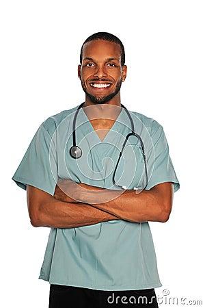 Male Doctor of Nurse