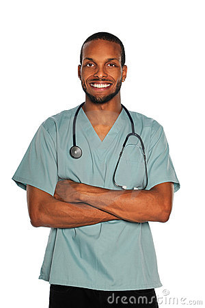 Free Male Doctor Of Nurse Stock Photo - 21019420