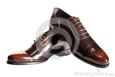 Male elegant shoes
