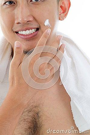 Male facial