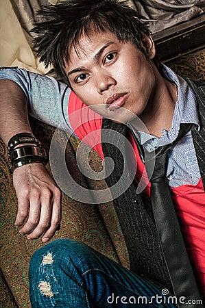 Free Male Fashion Model Stock Photos - 52325883