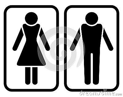 Male & Female Symbol.