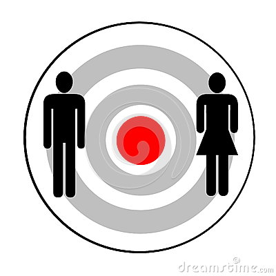 Male and female targeted