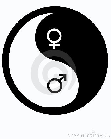 Male and Female Yin Yang
