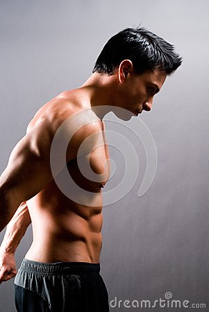 Free Male Fitness Model Stock Images - 28357814