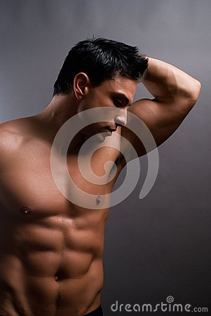 Free Male Fitness Model Royalty Free Stock Photography - 28357817
