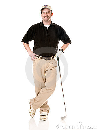 Free Male Golfer Royalty Free Stock Photos - 4519618
