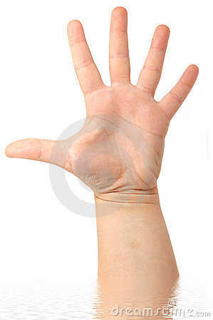 Male Hand Stock Photo - Image: 3527350