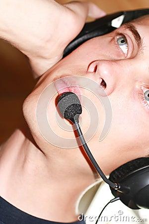 Male hörlurar