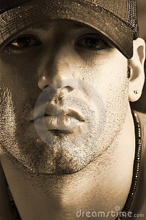 Free Male In Ball Cap Stock Images - 751614