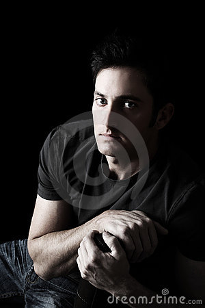 Free Male Model Royalty Free Stock Image - 22598016