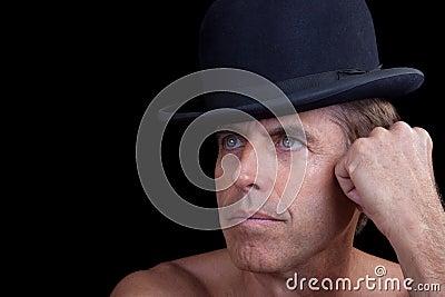 Male Model in a Hat