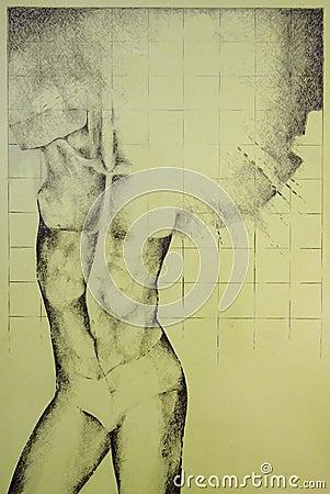 Male nakenstudie