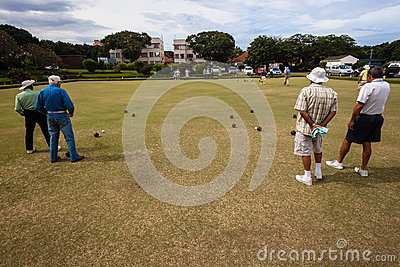 Bowls Players Games Competiton Editorial Image