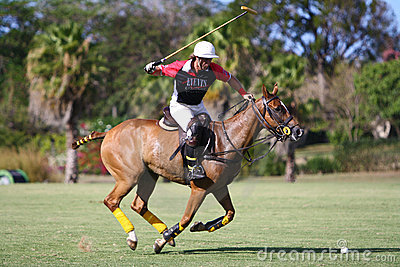 Male Polo Player Editorial Image