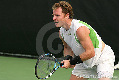 Male Professional Tennis Player Return Editorial Image
