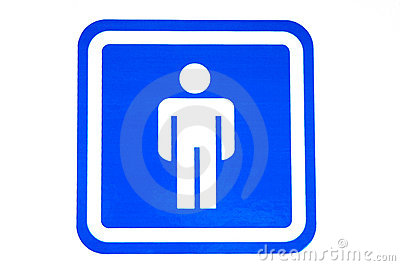 male restroom sign stock photo  image, Bathroom decor