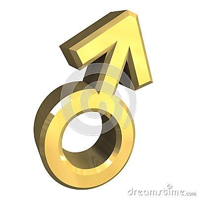 Male sex symbols (3D)