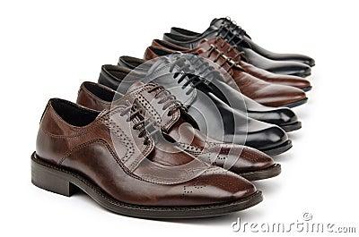 Male shoes - fashion concept