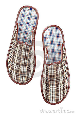 Free Male Slippers Stock Photography - 11719552