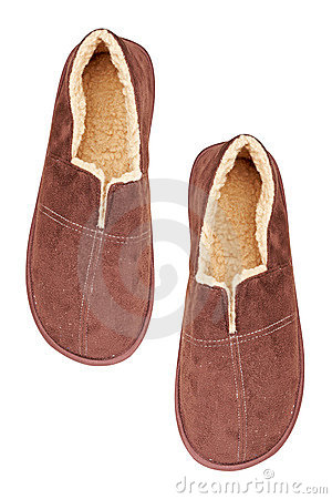 Free Male Slippers Stock Photography - 12590082