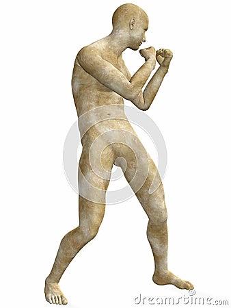 Male Stone Statue