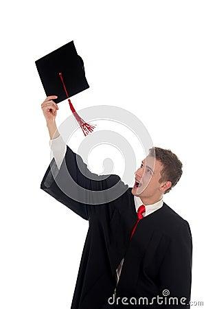Free Male Student Graduating Royalty Free Stock Photo - 1480275