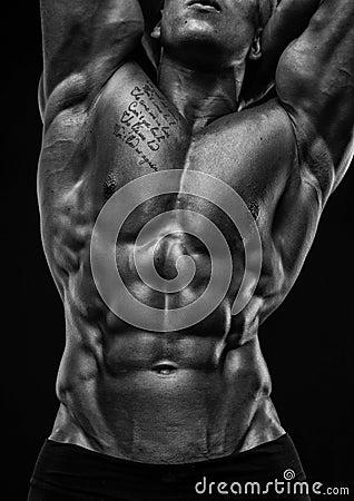 Free Male Torso Stock Photography - 38775082