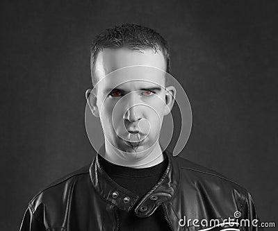 Male Vampire Portrait