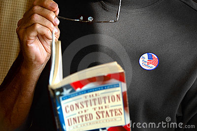 Male voter Editorial Image