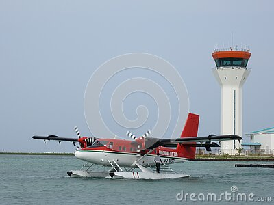 Malediven Air Taxi 8q-mbc Free Public Domain Cc0 Image