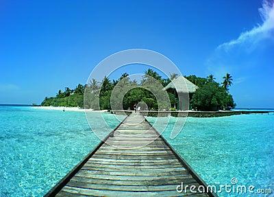 Maledivische Insel Rannalhi