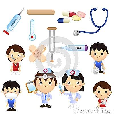 Mali lekarka dzieciaki