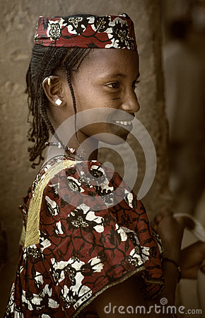 Mali, West Africa - Dogon villages mud houses, Peul and Fulani p Editorial Photography
