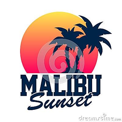 Free Malibu Sunset Royalty Free Stock Photos - 36669218