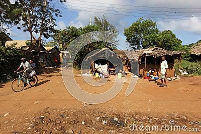 Malindi's street