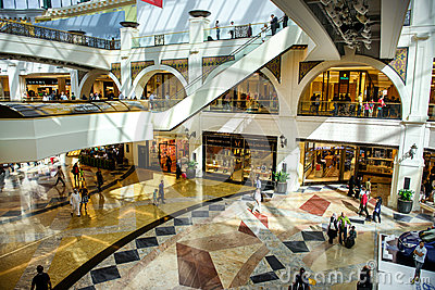 Mall of the Emirates Editorial Stock Photo