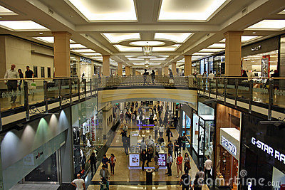 Mall of the Emirates in Dubai Editorial Photo