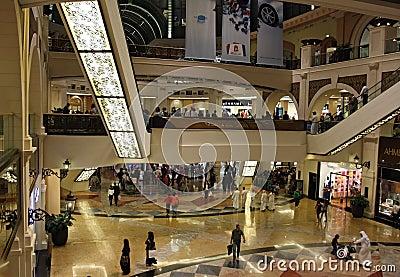 Mall of the Emirates in Dubai Editorial Stock Image