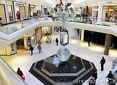 Mall Interior Editorial Photo