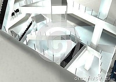 Mall interior design