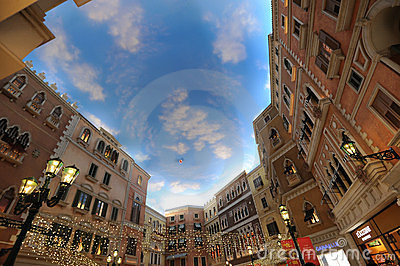 Mall in The Venetian Macao Editorial Image
